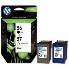 Genuine HP 56 Black (C6656AE) + HP 57 Tri-Colour (C6657AE) | FREE 🚚 DELIVERY