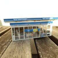 Faller 130482 H0 ARAL Tankstelle mit Servicegebäude mit vielen LED´s beleuchtet
