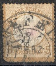 GERMANY Sc #20 (large shield) USED