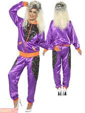 Smiffys 43080m Retro Shell Suit Ladies Costume (medium)