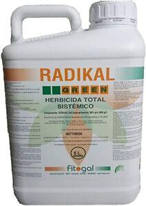 Desherbant herbicide Glyphosate RADIKAL GREEN 5L concentré tous jardins envoi24H