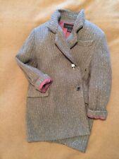 Louis Vuitton Coat Jacket 100% Wool Vintage Couture Boyfriend Style