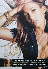 """Jennifer Lopez """"J.Lo-Incl. Love Don'T Cost A Thing"""" 2-Sided Canada Promo Poster"""