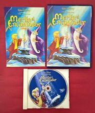 Merlin el encantador DVD - Walt Disney - USADO - MUY BUEN ESTADO
