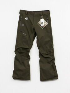 Volcom L Gore Tex Pants New Medium Military Green $280.00