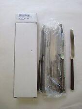 12pc Set NEW Mepra AZ10i71103 Table Knife Chocolate 799975739854  Free Shipping