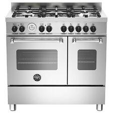 Bertazzoni Mas90-5-Mfe-D-Xe 90cm Master Dual Fuel Twin Range Cooker