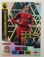 2020/21 PANINI Adrenalyn EPL Soccer Card Trent Alexander-Arnold Limited Edition
