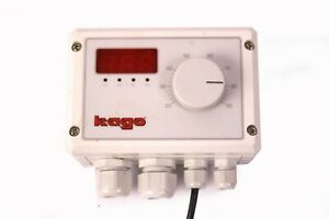 Kago Kasol 131 Temperaturregler mit Temperaturfühler Solar Wasserheizungsregler