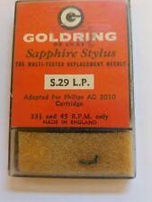 Qualité Goldring remplacement fiche stylet compatible avec Philips AG3010