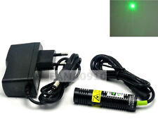 532nm 30mW 5V Green Laser Dot Module Long Time Working 18x75mm w/AC Adapter