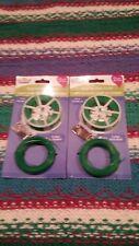 Standard Garden Twist Flexible Ties with Cutter, Green, 150 ft. 2 Pack 4 Spools