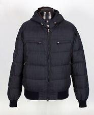 $4895 BRUNELLO CUCINELLI Nylon / Cashmere / Down Puffer Jacket w/ Hood - M