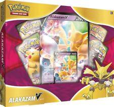 Pokemon Alakazam V Box Brand New Sealed In Hand
