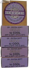 Mr Zogs XCold Sex Surf Wax 5 Pack
