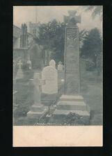 Cumbria CONISTON Church Yard Ruskins Grave c1902 u/b PPC