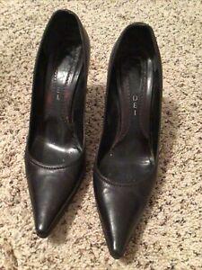 Ladies CASADEI Italian leather pumps, high heels, dress shoes