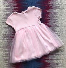 Zara Girls Pink Tutu Dress Age 3-4 Years Vgc