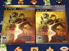 Resident Evil 5: Gold Edition EXCELLENT CONDITION  (Sony PlayStation 3, 2010)