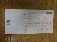 21/04/2014 Ticket: Rotherham United v Port Vale [Complete Ticket] . Thanks for v