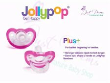 Jollypop ~ The New Gumdrop ~Dummy Pacifier Soother 3 Month Plus Pink