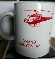 Vintage Grand Canyon AZ Souvenir Coffee Mug Airstar Helicopter