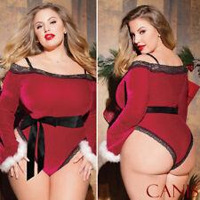Sexy Lingerie Women Xmas Nightwear Underwear Babydoll Chemise Sleepwear Gifts