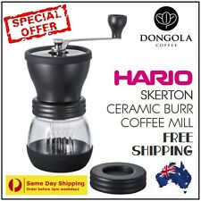 **SPECIAL** HARIO SKERTON MSCS-2TB Manual Ceramic Burr Coffee Grinder Hand Mill