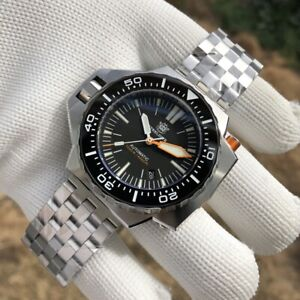 STEELDIVE SD1969 ProPlof Automatic 1200m Diver Watch *UK SELLER* *EXTRA STRAP*