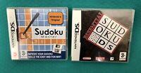 Sudoku Master + Essential Sudoku- Nintendo DS, DSi/3DS Games Bundle - VGC