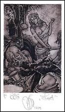 Agirba Ruslan 2005 Exlibris C3 Project Lot Erotic Erotik Nude Sex Woman 263p