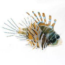 Aquarium Plastic Floating Glowing Wiggling Tail Lionfish Ornament New