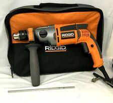 RIDGID R50111 8.5-Amp 1/2 in. Heavy Duty Hammer Drill, RR058