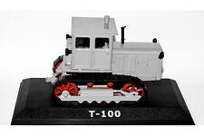1/43 Tractor T-100 USSR Diecast Hachette Caterpillar NEW OVP Farm