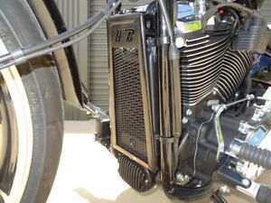 Harley Davidson Softail Street Bob 2018-2021 RAD GUARD Oil Cooler Guard - Black