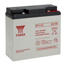 YUASA NP17-12 Batteria ermetica al piombo 12V 17Ah equivalente Fiamm FG21803