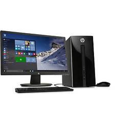 HP Pavilion 251 Intel J2900 Quad Core 4GB 1TB WiFi with 22-inch Monitor Desktop
