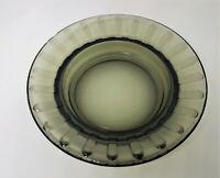 "Vintage Smoke Glass Ashtray 4 1/2"""