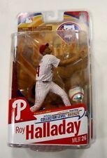 MCFARLANE MLB BASEBALL ROY HALLADAY BRONZE COLLECTOR LEVEL CHASE WHITE/RED HAT