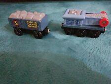 Thomas Train Wooden Railway Center Island Quarry Conveyor Belt & Boulder Car Set