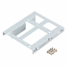 2-Bay 2.5 SSD HDD Hard Disk to 3.5 Drive Bay Converter Adapter Rack Bracket GY