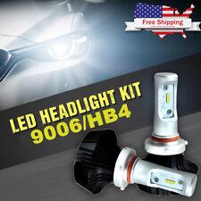 US White LED Headlight Kit 9006 HB4 PHILIP Bulbs 16000LM for Honda Ford Nissan