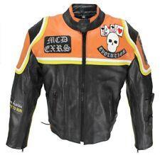 Motorrad Mickey Rourke Rindleder Jacke Retro Biker Vintage Jacket Custom Harley