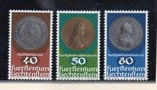 Liechtenstein Monedas sobre sello serie del año 1978 (BX-933)
