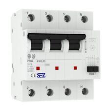 SEZ fi-interruptor 63a 30ma 4p 10ka rccb 0090685 fi-disyuntor 5449