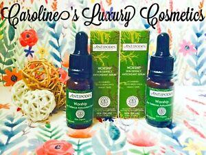 ANTIPODES 💖 Worship Skin Defence Antioxidant Serum - Vegan 2 X 10ML 💖 NEW
