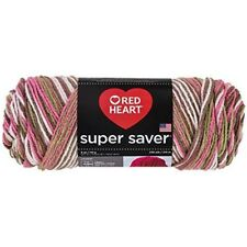 Coats Yarn Red Heart Super Saver Yarn-pink Camo, Other, Multicoloured -