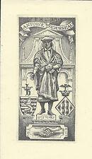 Juan Luis VIVES ex libris j. fernández saez/Rousseau humanista philosopher c2