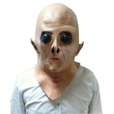 New Silicone Face Mask Alien Ufo Party Horror Rubber Latex Full Masks For Party