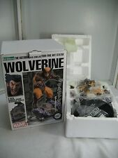 Marvel X-Men WOLVERINE (brown costum) Statue Kotobukiya Fine Art  1958/3300 ~NEW